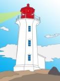 Leuchtturm_schein