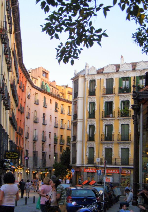 In den Gassen von Madrid