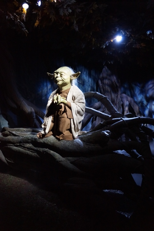 Yoda. Star Wars Ausstellung in London. #Madame Tussaud´s