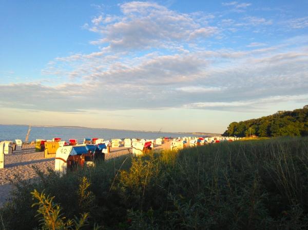 Abendsonne über der Ostsee