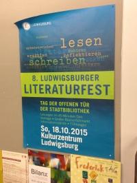 8. Ludwigsburger Literaturfest