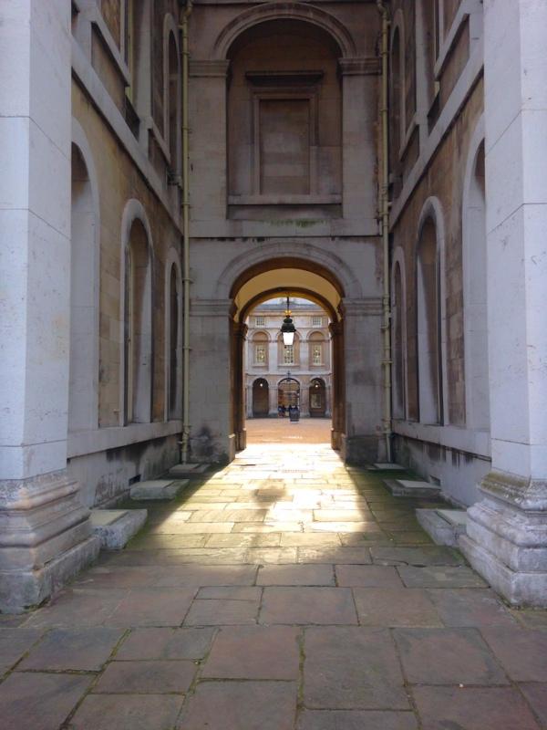 Lichtblick in Greenwich, London