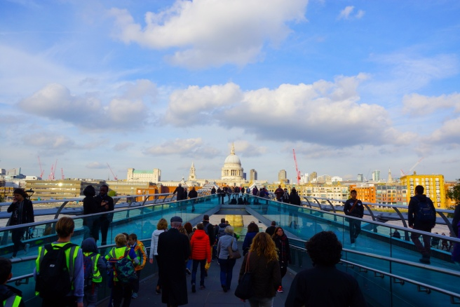 © cmh_Millennium Bridge, London