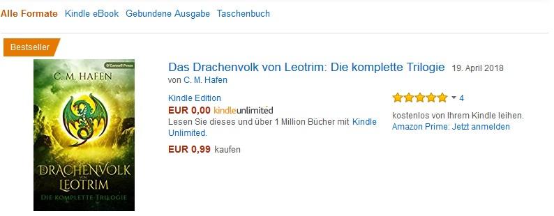 Bestseller Drachenvolk