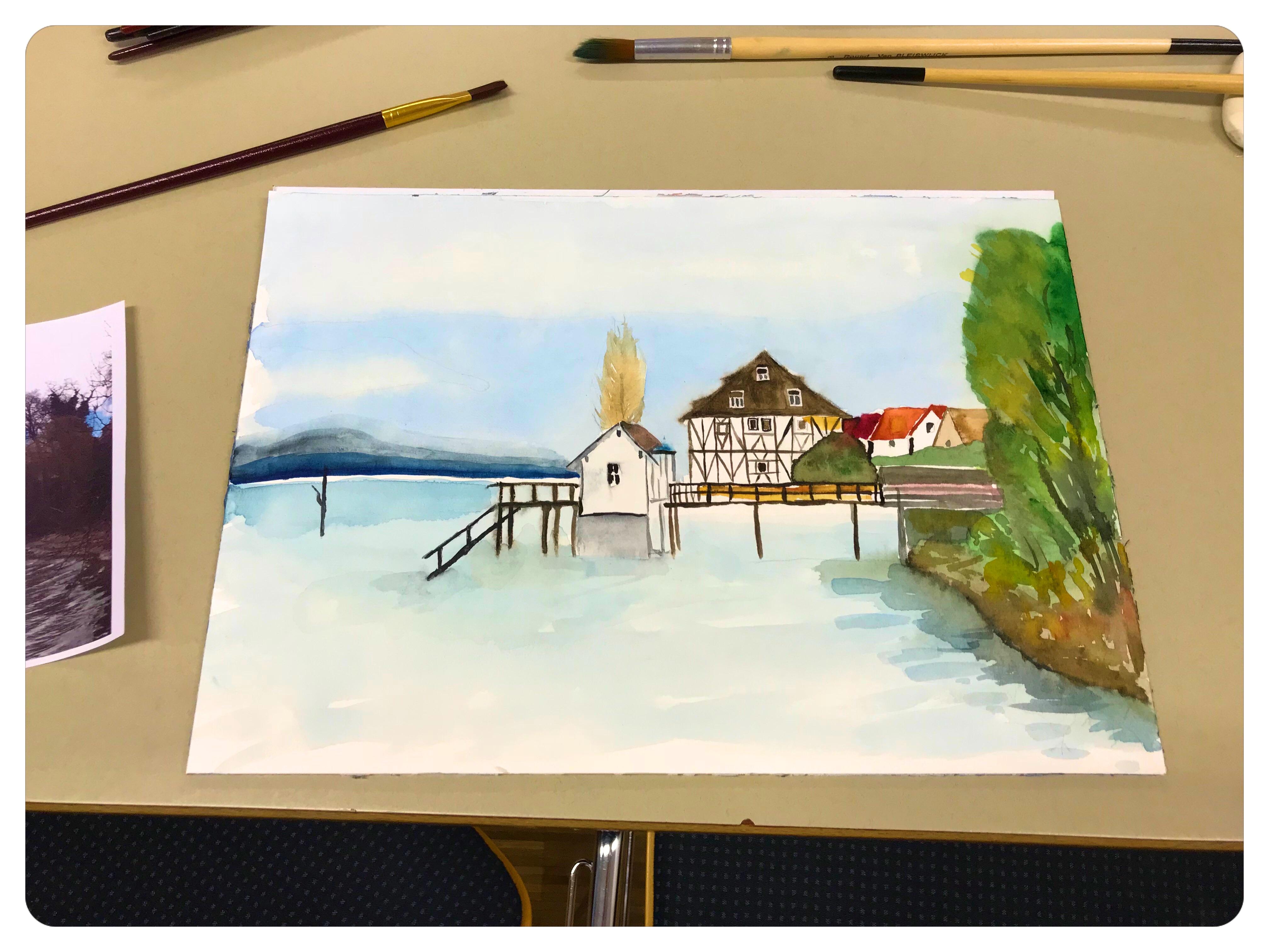 cmh Aquarell Bodensee