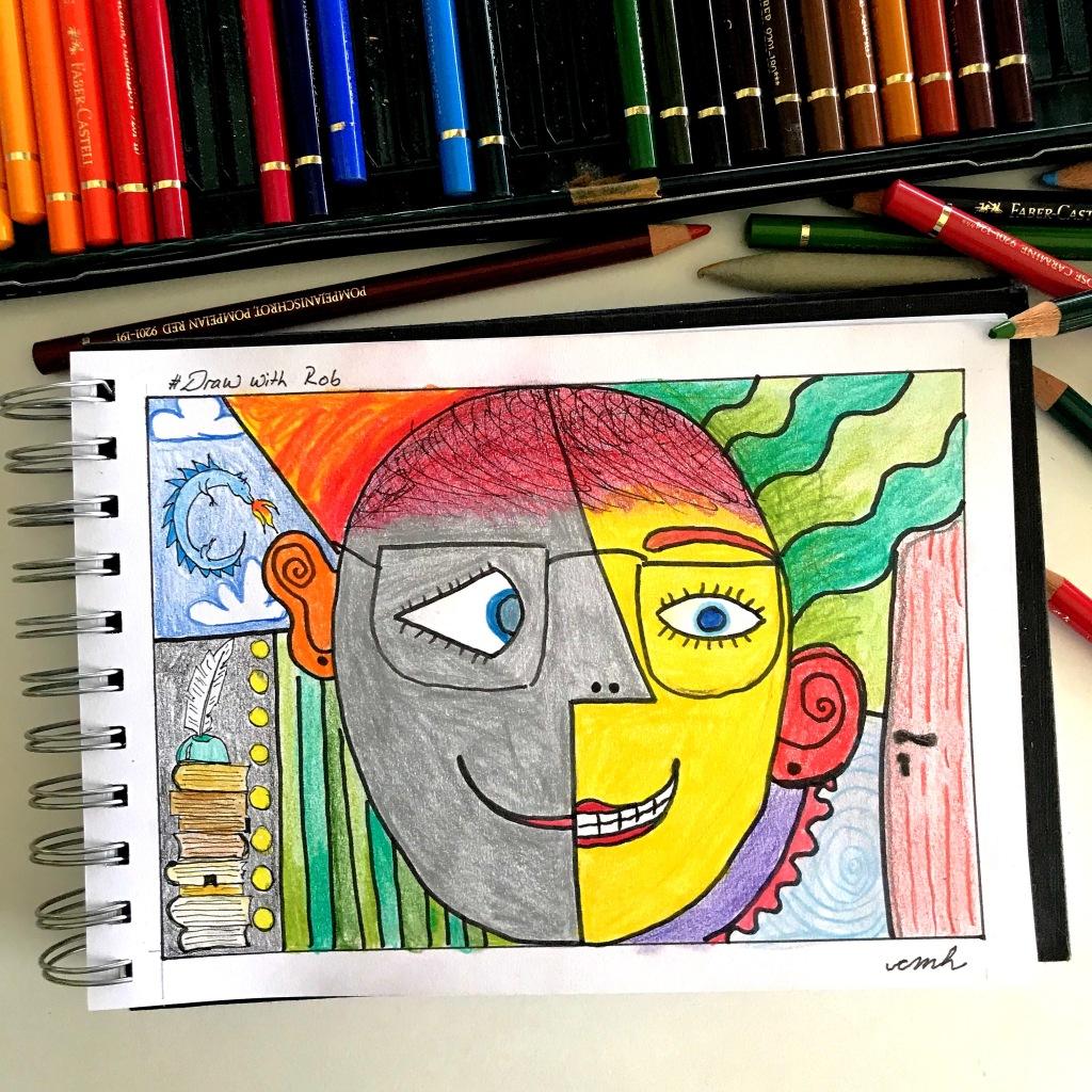 Piccaso-Style-Selfportrait